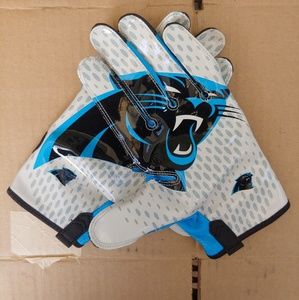 Nike Vapor Knit Carolina Panthers gloves